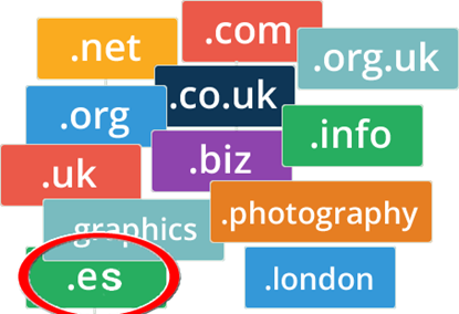Picture of Domain Name .es