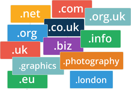 Picture for category Domain Names